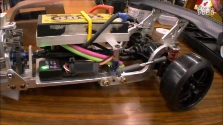 手工打造的Hot Rod RWD漂移遥控车