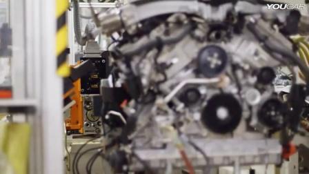 宾利汽车生产线W12发动机制造过程