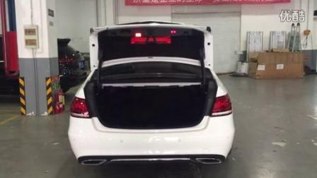 金驰之星增配作业 W212 E加装原厂电尾门