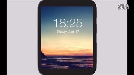 微软Lumia智能手表概念版