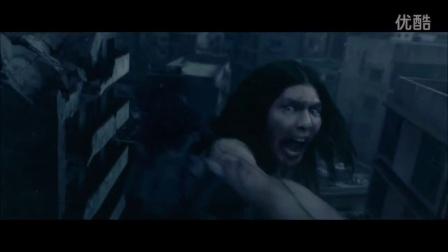 进击的巨人发最新预告片 巨人化艾伦首露真容 女汉子三笠吻戏曝光