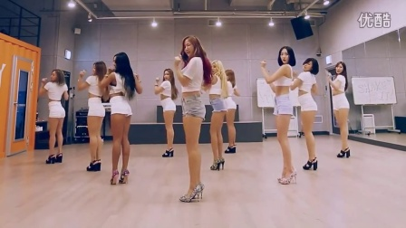 SISTAR - Shake It - mirrored Dance Practice