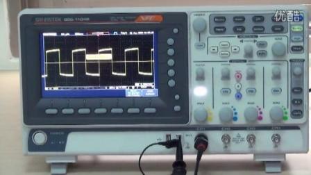固纬电子 数字存储示波器 GDS-1000B系列 基本使用方法