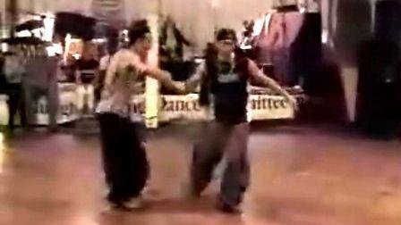 摇摆舞,Max and Thomas 很棒的两个男人跳舞