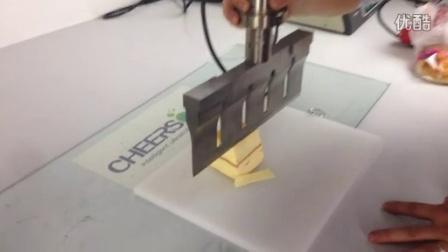 海绵蛋糕切割 超声波海绵蛋糕切割 操作演示