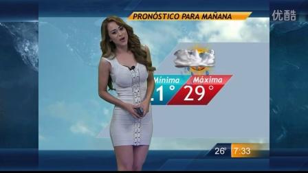 【极限性感】Yanet  传说中的墨西哥性感天气预报女主播