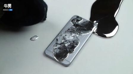 疯狂化学实验 - 纯镓倒在iPhone 6上会发生什么?