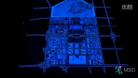 多媒体沙盘LCD+亚克力模型
