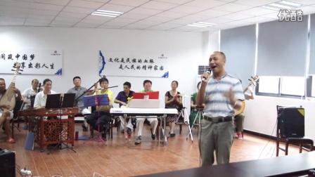 重庆沙区琴缘乐坊排练男声独唱(天边的骆驼)