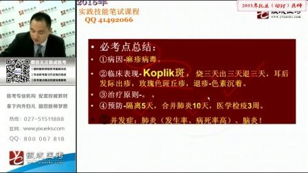 2015贺银成执业助理医师视频实践技能笔试课件■全套【完】
