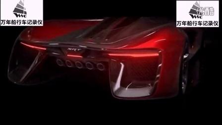 道奇蝰蛇未来的最牛梦幻跑车 霸气十足 道奇蝰蛇SRT概念车酷似外星机器 超清