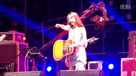 20150628长沙草莓音乐节陈绮贞-吉他手
