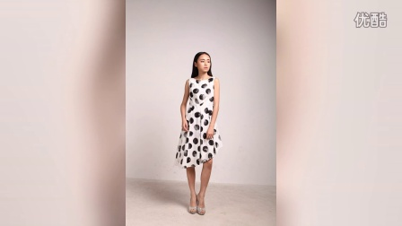 2015夏季首发 MAOMAO独家设计 DG波点连衣裙纯棉连衣裙