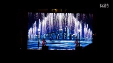 高端绚丽隆重美女热舞3D视频秀梦想都市舞蹈表演