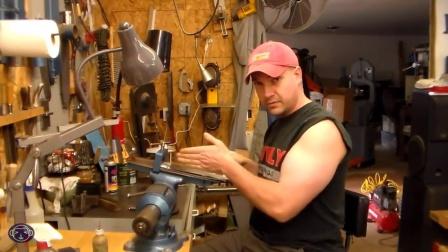 Custom Knife Making hand sanding with Nick Wheeler (HD)