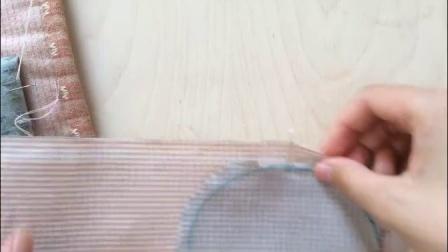 手工布艺拼布基础课程3——一加一手工布艺