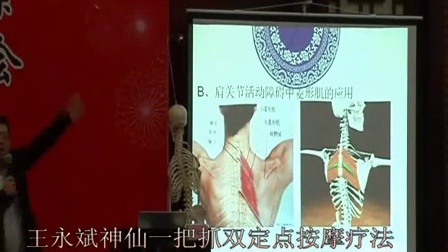 中医推拿按摩疗法神仙一把抓治疗肩关节活动障碍手法培训视频教程