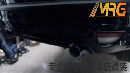 福特福克斯改装MRG中尾段排气管声浪录音    声音超正_标清