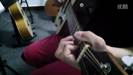 周杰伦 算什么男人  吉他 弹唱 guild 夜深小声版