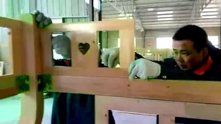 金多喜实木双层床安装视频_标清
