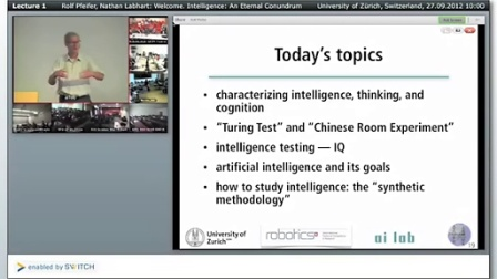 Lecture 1_10- Intelligence -- An Eternal Conundrum [SHAIL 20