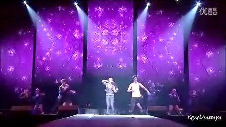 Yaya Superstar 4加1演唱会独唱及与Nadech合唱部分(官方DVD剪辑高清片段)