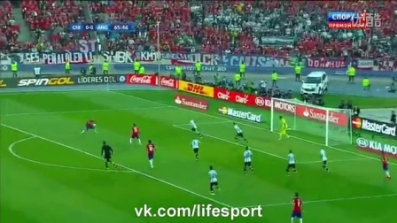 Chile vs Argentina 0-0 (4-1) Full Highlights (penalty) 04-07-2015