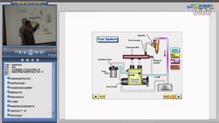 汽车维修视频教程 柴油共轨发动机燃油系统原理与检修 片段