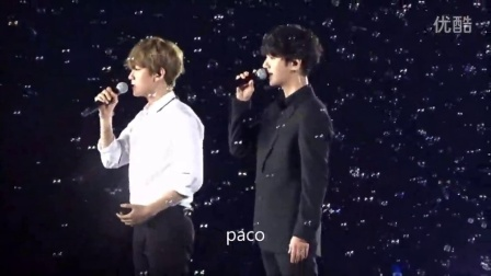 150706 SMTOWN in TOKYO Harmony in the End of Summer (BAEKHYUN & YESUNG)