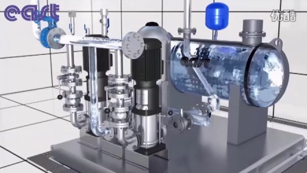 上海东方泵业(集团)有限公司BW5型无负压叠压供水设备