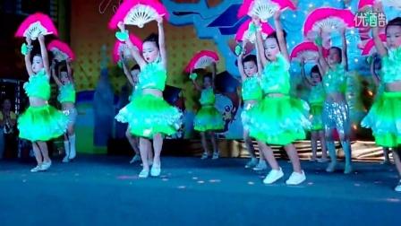 幼儿舞蹈视频(诗歌春晓)扇子舞