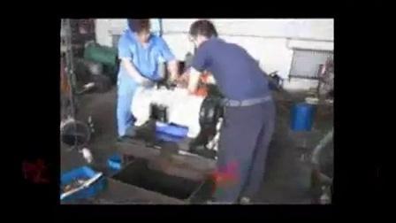 卡门蒸发器进水大修