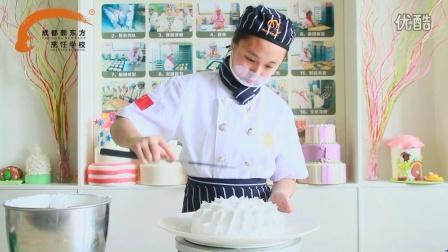 新东方师姐教你做裱花蛋糕