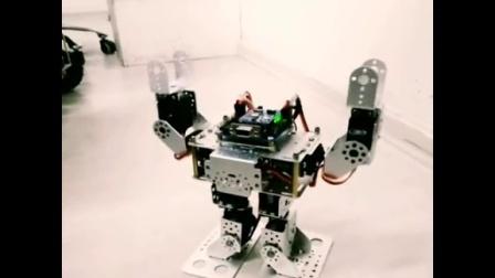 奥松机器人小型人型机器人舞蹈演示