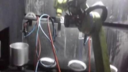 六轴机器人喷涂应用实例
