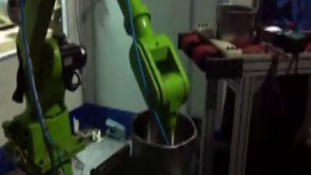6自由度上下料机器人