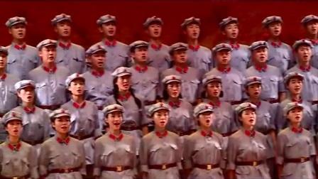 """陕西省军区庆七一""""延安精神促强军、培育四有好军人""""主题晚会之保卫黄河"""