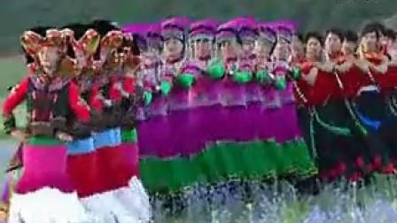 云南省宁蒗彝族自治县民族团结舞之  彝族舞2_标清