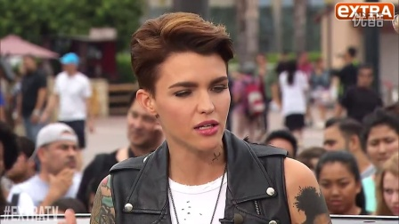 Ruby Rose- 'We Shouldn't Feel Boxed Into One Particular Gender'