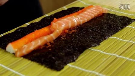 如何制作日本料理无米饭 寿司