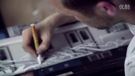 L'artiste graffeur SOTEN