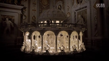 Sebastian Burdon - All Things Fall - 3D printed zoetrope by Mat Collishaw