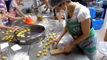 点心课-番薯饼制作过程3