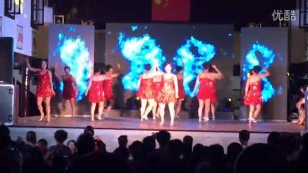 三江街道后江舞蹈之芝加哥篝火