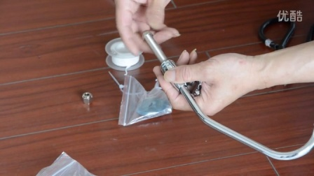 加美仕超滤净水器安装示例