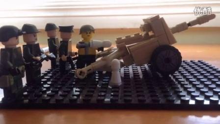 ZAX 乐高二战 大炮试验 日军
