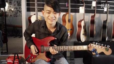 电吉他教学教程09 推弦