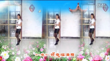 河北定州市梦之幻广场舞【红红玫瑰】编舞:云裳