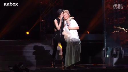 衛蘭x鄭秀文演唱會中完美合唱《默契》