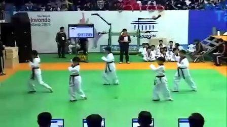 【侯韧杰 TKD 表演篇】之 跆拳道品势